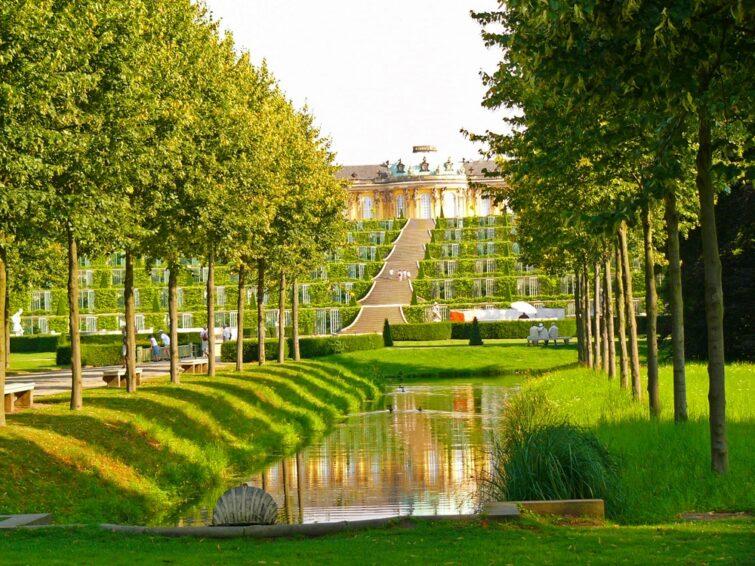 Le parc de Sans-Souci - visiter Potsdam