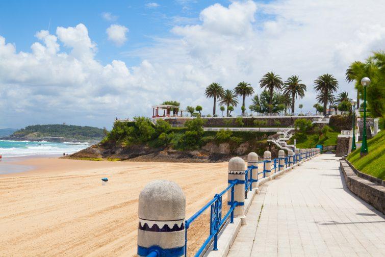 La plage El Sardinero - visiter Santander