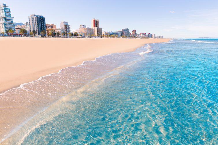 Les plages de Valence