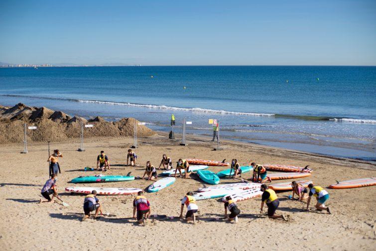 Planche à voile à Valence