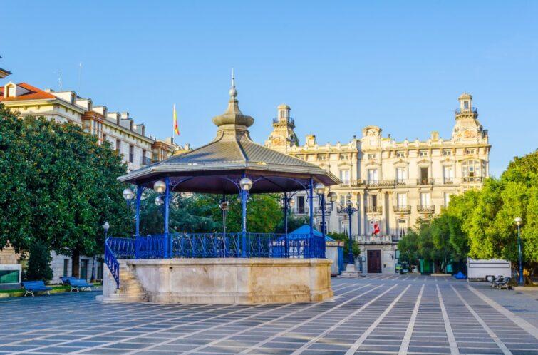 La Plaza Pombo - visiter Santander