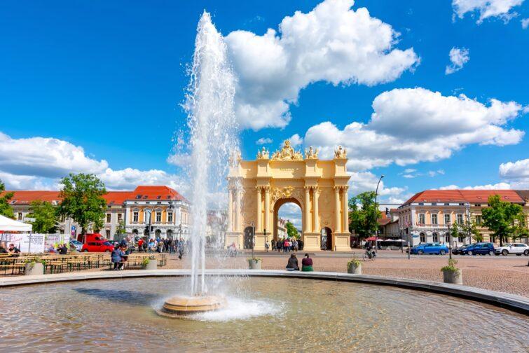 La porte de Brandebourg - visiter Potsdam
