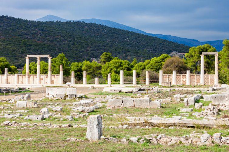 Le sanctuaire d'Epidaure
