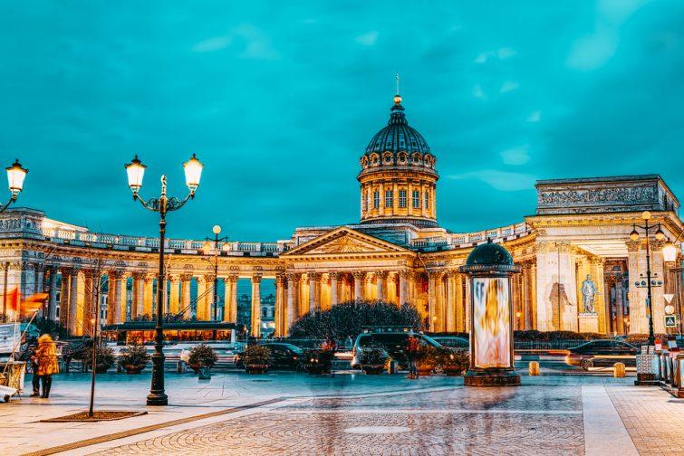 Temple de Kazan - Saint Pétersbourg