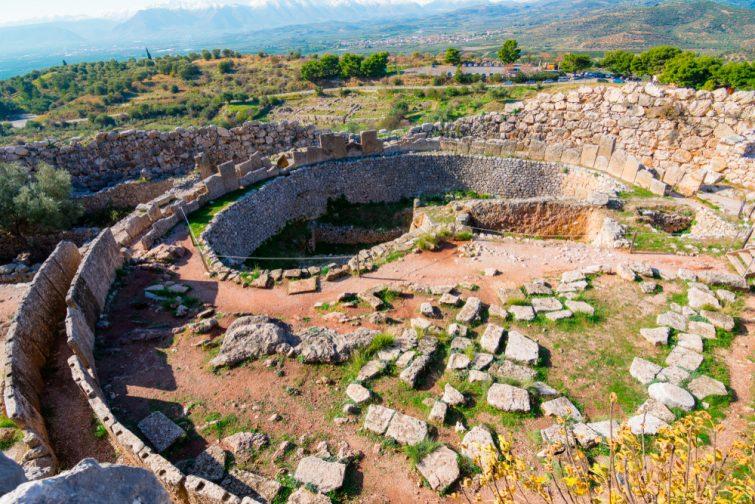 Les tombes à fosse de Mycènes