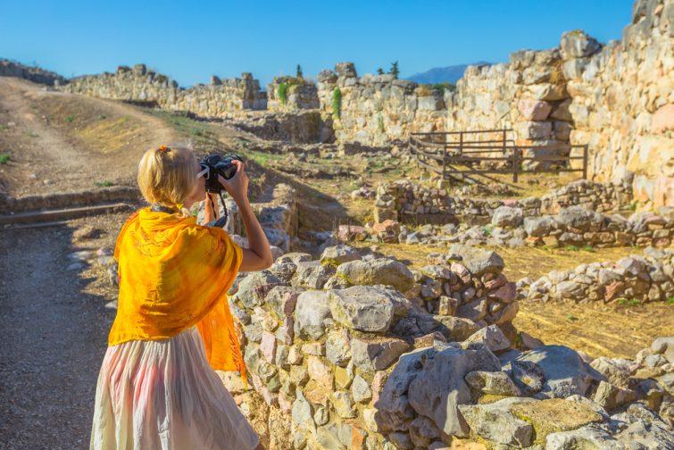 Visite à pied de Mycènes