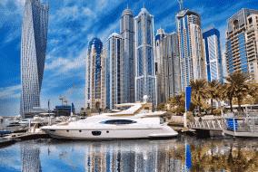 Location de bateau à Dubaï : idées d'itinéraires
