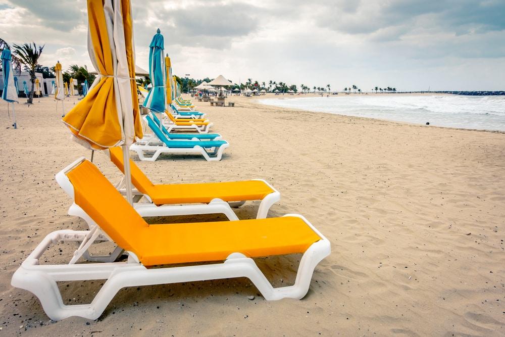 Al Mamzar Beach Park - plage Dubaï