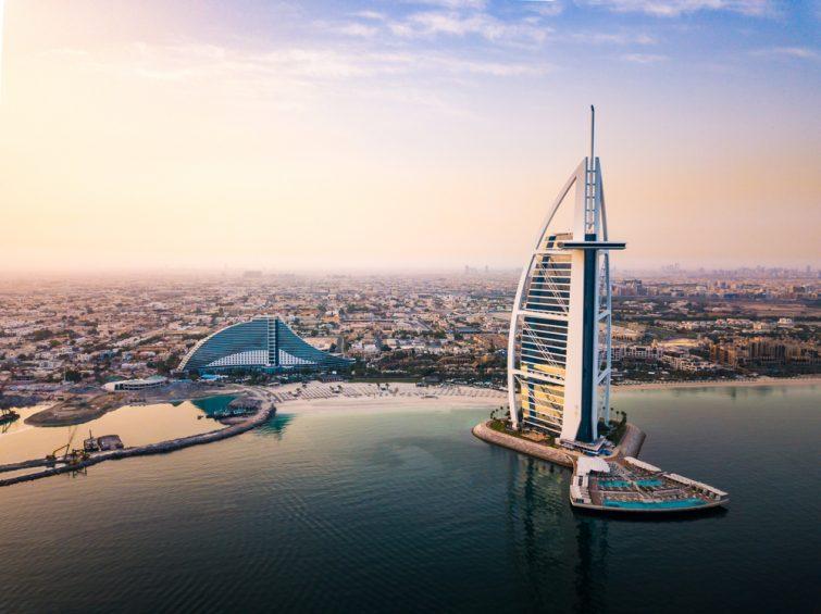On y trouve le seul sept étoiles au monde - Dubaï