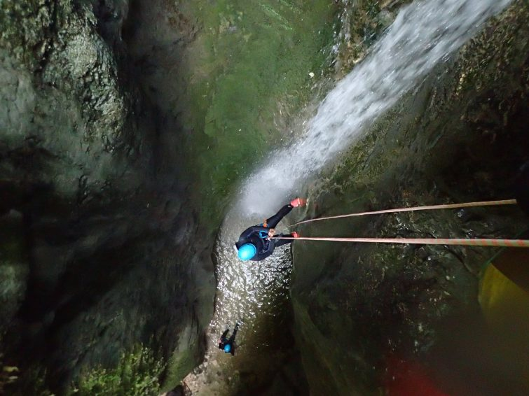 Canyon du Versoud - canyoning Isère