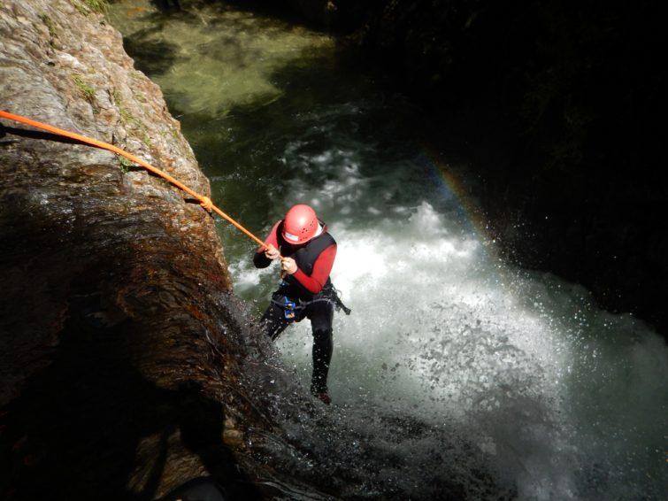 Canyon des Moules Marinières - canyoning Isère