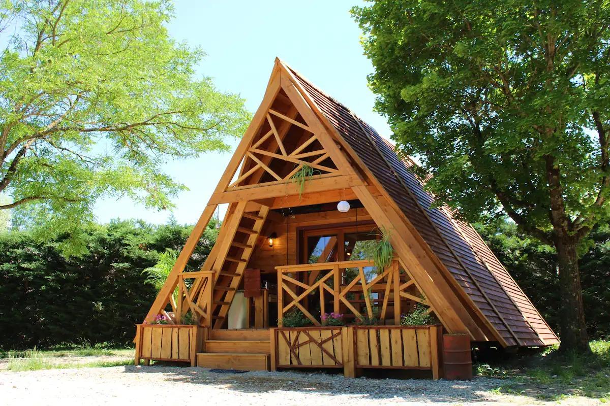 La Cabane en A