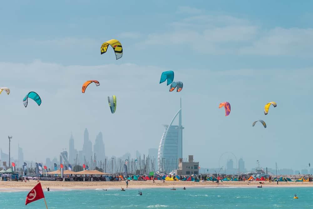 Kite Beach, sportive - plage Dubaï