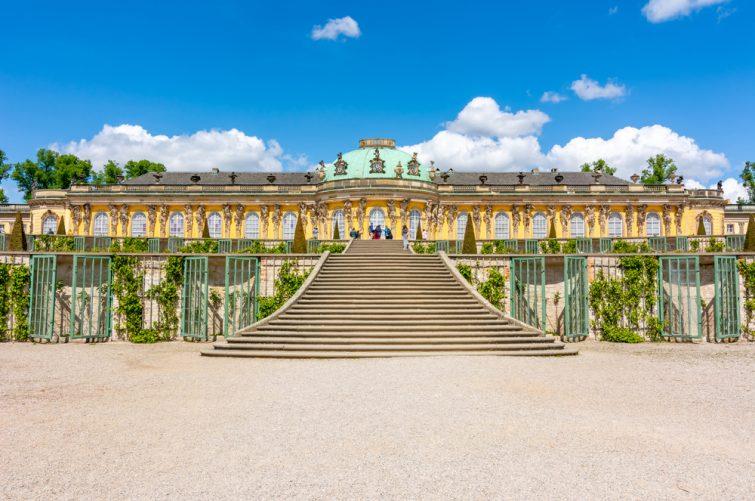 Le palais de Sans-Souci - visiter Potsdam